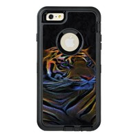 Apple otterbox, iphone 6 plus case, neon tiger OtterBox iPhone 6/6s plus case