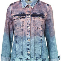 MOTO Dip Dye Oversized Denim Jacket - New In This Week  - New In