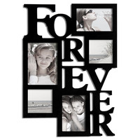 """Forever"" 5-Opening Collage Picture Frame [PF0001-B]"