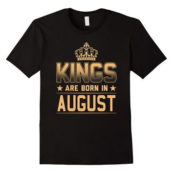 Men's Kings Are Born In August Shirt