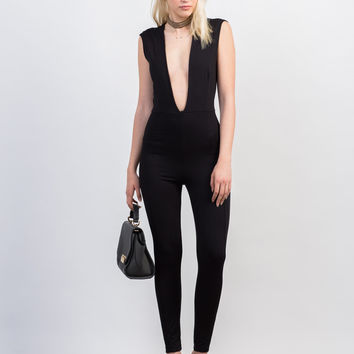 Super Plunging Jumpsuit