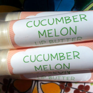 Cucumber Melon Lip Butter ~ Lip Balm