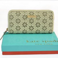 Kate Spade Flower Women Leather Purse Wallet H-YJBD-2H