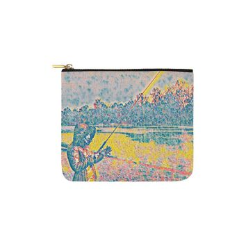 Levi Thang Fishing Design 15 Carry-All Pouch 6''x5''