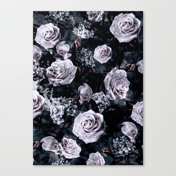 Dark Love Canvas Print by RIZA PEKER