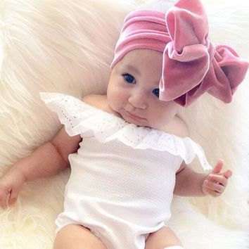 9 Colors Big Oversized Bowknot Cute Baby Girl Child Infant Toddler Head Wraps Bandana Headband