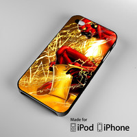 The Flash Rebirth iPhone 4S 5S 5C 6 6Plus, iPod 4 5, LG G2 G3, Sony Z2 Case