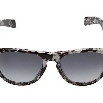 Under Armour Sierra Sunglasses Shiny White Marble/Grey Gradient