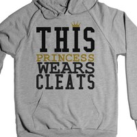 This Princess Wears Cleats Soccer Softball Hoodie Sweatshirt |