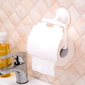 1PCS Toilet Bathroom Wall Mounted Roll Paper Holder Fashion Tissue Cover Storage Holder