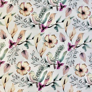 Bulk Ream Roll Floral Any-Occassion Gift Wrap Wrapping Paper, Paradise CLOSEOUT