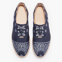 The Hampton Shoe (Bandana Navy)