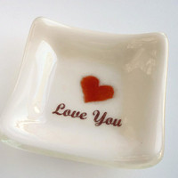 Small Gift Ideas - Love You - Ring Dish
