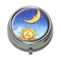 Celestial - Sun and Moon Pill Box