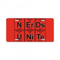 nerds unite License Plate