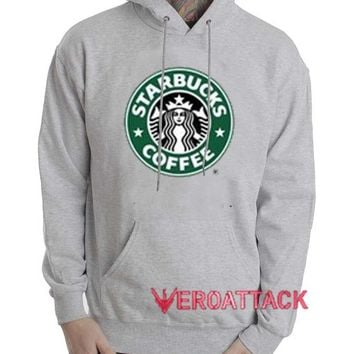 Starbucks Coffee Grey Color Hoodie
