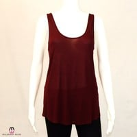 Seamed Front Knit Tank