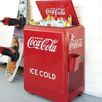 American Retro Coca-Cola Machine - Refrigerated