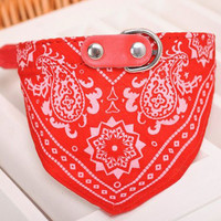 Adjustable Bandana Cat Collar