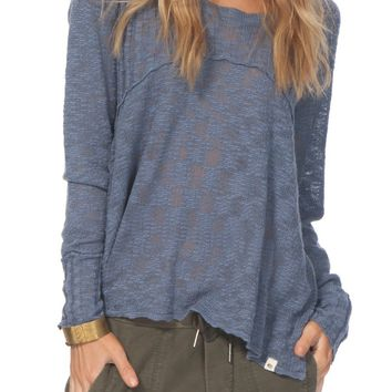 Rip Curl Prophesy Knit High/Low Pullover | Nordstrom