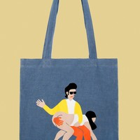 Mskook Big Daddy Spanking Tote Bag