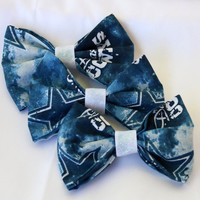 Dallas Cowboys Clip-On Bow