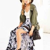 MINKPINK Moonlit Maxi Skirt- Blue