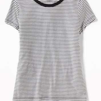 Softest Crew-Neck Printed Tee for Girls | Old Navy