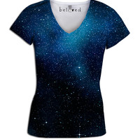 Starry Starry Night Women's V-Neck Tee