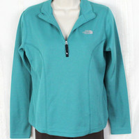 Nice The North Face Flight Series Top M size Womens 1.4 Zip Fitted Workout Outdoors