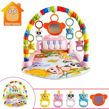 Baby Play Music Mat Carpet Toys Kid Crawling Play Mat Game Develop Mat with Piano Keyboard Infant Rug Early Education