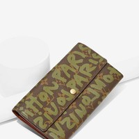 Vintage Louis Vuitton Monogram Stephen Sprouse Wallet