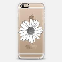 Daisy Transparent iPhone 6s case by Project M | Casetify