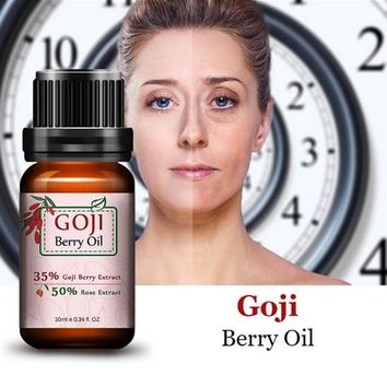Super Anti Wrinkle Anti Aging Acid Goji Berry Essential Oil Rose Flavor Chinese Wolf Berry Anti-wrinkle Cream