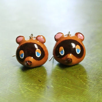 Animal Crossing // Tom Nook Earrings