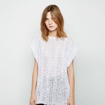 Crochet Tunic  by MM6 by Maison Martin Margiela