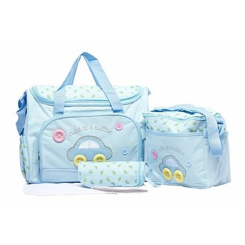 4-Piece Baby Diaper And Carry-All Bags Set