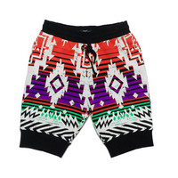 Bangkok Sweatpant-Shorts - White
