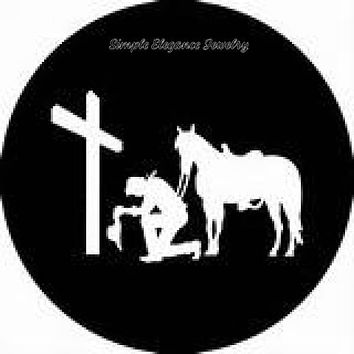 Cowboy Praying Cross Snap Charm 20mm or 12mm for Snap Charm Jewelry