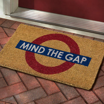 BBC America Shop - Mind the Gap Doormat