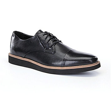 Calvin Klein Trevor Cap-Toe Oxfords - Black