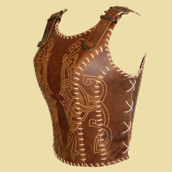Soft Leather Armor for Viking Women