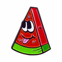 Watermelon Buddy Enamel Pin