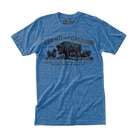 Ground Tee Heather Blue / HippyTree
