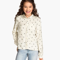 H&M Patterned Blouse $14.95