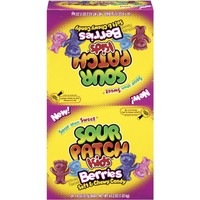 Sour Patch Kids Candy, Berries, 1.8-Ounce Bag (Case of 24)