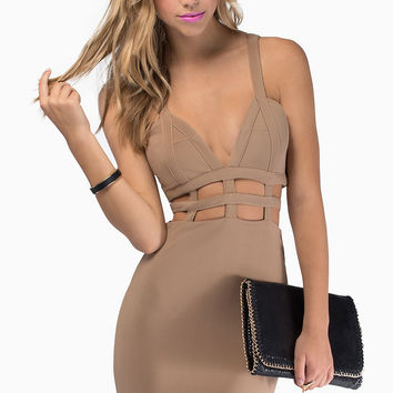 Venetian Bodycon Dress