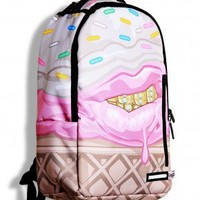 Sprayground Backpacks, Bags, and Accessories - Ice Cream Grillz x Cupcake Mafia