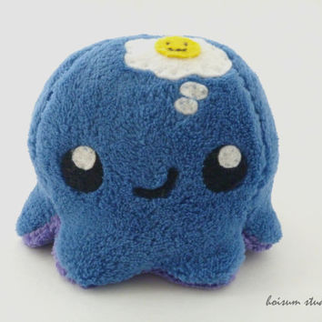 Octopus Plush - The Thoughtful Tako *Think Happy Thoughts*