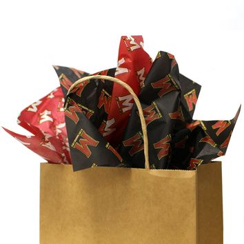"University of Maryland ""M"" Logo / Tissue Paper Pack"